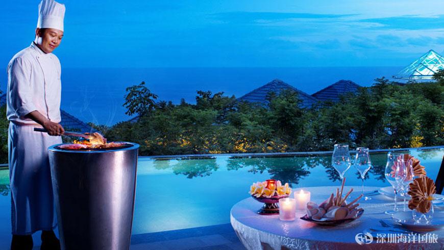 巴厘岛悦榕庄酒店 banyan tree ungasan bali