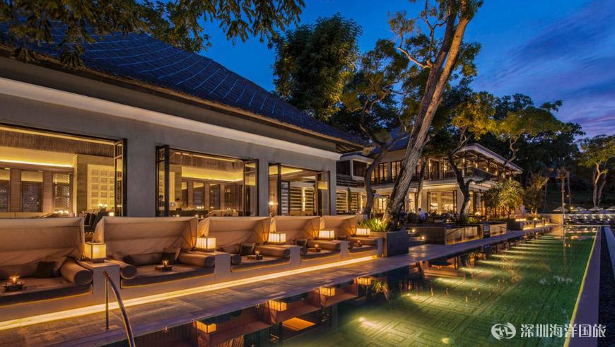 巴厘岛金巴兰湾四季度假酒店 four seasons resort bali at jimbaran