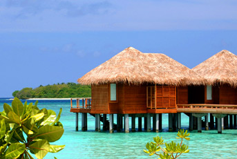 Y-马尔代夫满月岛6天4晚自由行(2晚沙屋+2晚水屋+早餐+快艇+香港往返)