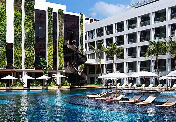 巴厘岛万豪雷吉安酒店 The Stones Hotel-Legian Bali ,From M